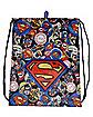 Superman Cinch Bag - DC Comics