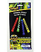 Glow Stick Animal Print 4-Pack