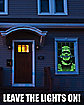 Frankensteins Monster Window Poster