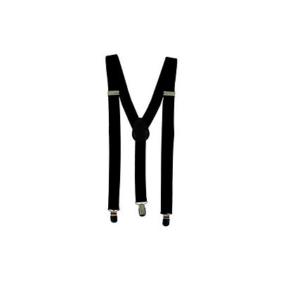 Men's Vintage Style Suspenders Black Suspenders $7.99 AT vintagedancer.com