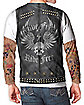 Tattoo Sleeved Biker T Shirt