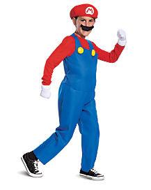 Kids Mario Costume Deluxe- Mario Bros.