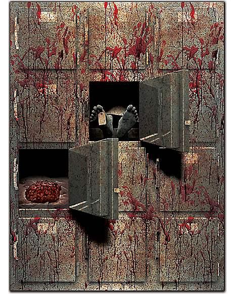 Spirit Halloween Wall Decor : Morgue wall d?cor decorations spirithalloween
