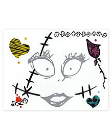 Sally Face Tattoo Decals - The Nightmare Before Christmas