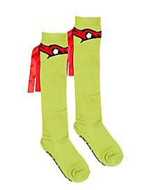 Raphael Knee High Socks - TMNT