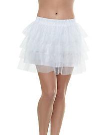 Tutu Skirt - White