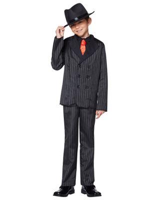 1920s Children Fashions: Girls, Boys, Baby Costumes Kids Gangster Costume by Spirit Halloween $32.99 AT vintagedancer.com