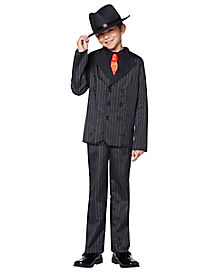 Kids Gangster Costume