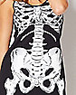 Printed Holographic Skeleton Dress