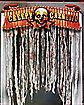 Creepy Carnival Door Topper - Decorations