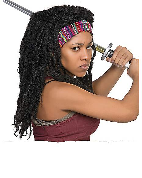 Michonne Wig - The Walking Dead  sc 1 st  Spirit Halloween & Michonne Wig - The Walking Dead - Spirithalloween.com