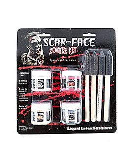 Zombie Scar Makeup Kit