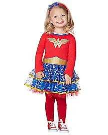 Toddler Bow and Stars Wonder Woman Costume - DC Comics