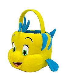 Plush Flounder Treat Bucket - The Little Mermaid