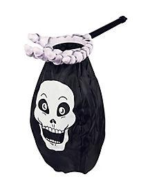 Skull Loot Scoop Treat Bag
