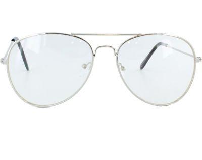 Retro Sunglasses | Vintage Glasses | New Vintage Eyeglasses Clear Aviator Glasses by Spirit Halloween $4.98 AT vintagedancer.com