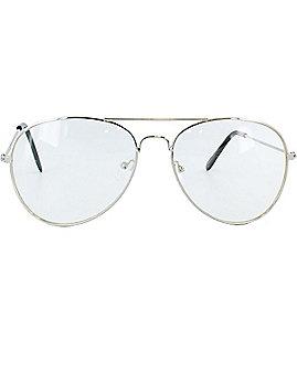 Clear Aviator Glasses
