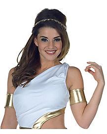 Gold Grecian Cuff Set