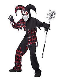 Kids Sinister Jester Costume
