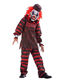 Kids Convict Clown Costume