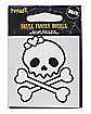 Skull Head Daughter Decal