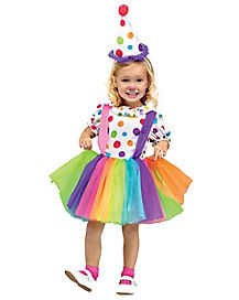 Toddler Big Top Fun Clown Costume