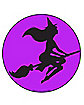 Purple Witch Magnet