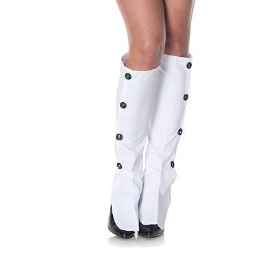 Steampunk Boots & Shoes, Heels & Flats Sexy Spats $12.99 AT vintagedancer.com