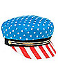 American Flag Sailor Hat