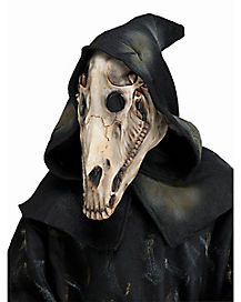 Hooded Horse Skull Mask