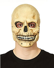 Over the Head Bone Skull Mask