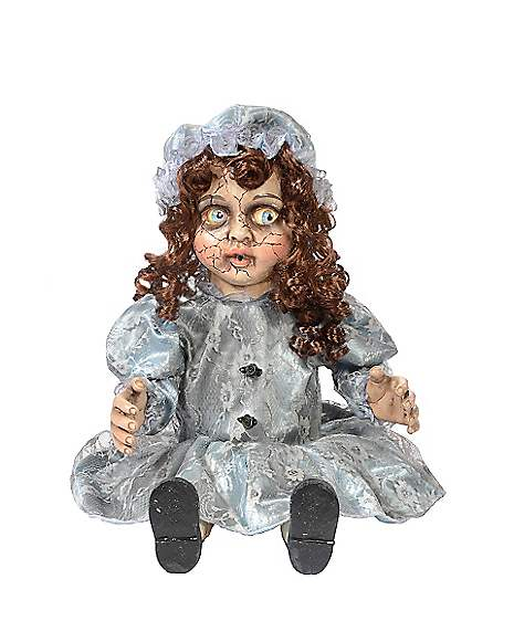 12 in decrepitrudy animated doll decorations for Animated scarecrow decoration
