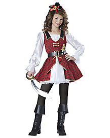 Kids Captain Cutie Pirate Costume