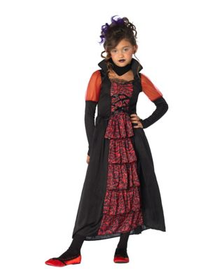 Steampunk Kids Costumes | Girl, Boy, Baby, Toddler Kids Midnight Vampire Costume by Spirit Halloween $24.99 AT vintagedancer.com