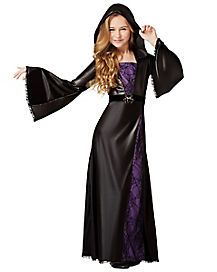 Kids Spider Sorceress Witch Costume