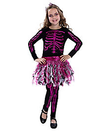 Kids Shreddy Skeleton Costume