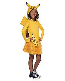 Kids Pikachu Dress Costume - Pokemon