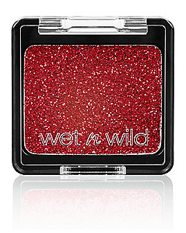 Red Glitter Eyeshadow Makeup
