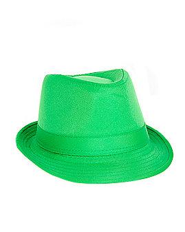 Green Fedora Hat