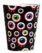 Eyeballs Plastic Shot Glass