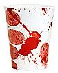 Bloody Fingerprint Plastic Shot Glass