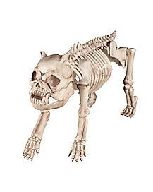 18 in skeleton dog decorations