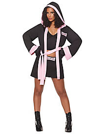 Adult Girl Boxer Costume