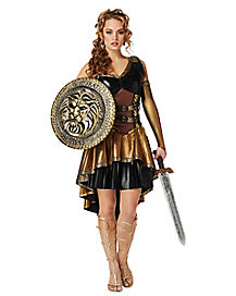 Adult Hades Warrior Dress Costume