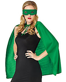 Green Superhero Costume Kit