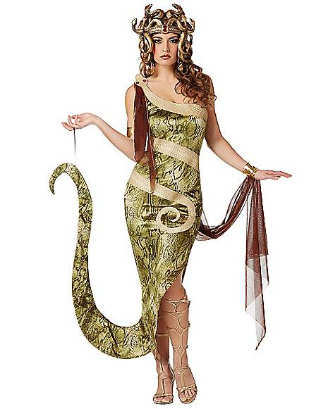 Adult Medusa Costume - Spirithalloween.com