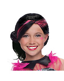 Kids Frights, Camera, Action! Draculaura Wig - Monster High