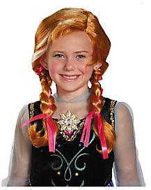 Princess Anna Child Wig - Frozen
