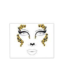 Leopard Face Decal