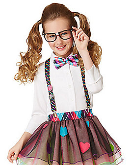 Kids School Nerd Costume Kit